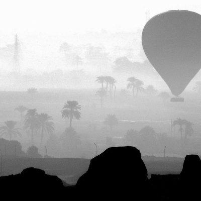 Ballonaufstieg (Ägypten) (Foto: Karl-Heinz Richter)