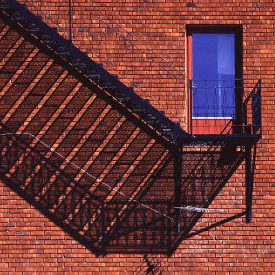 Fassade in Geilo, Norwegen (Foto: Manuela Hahnebach)