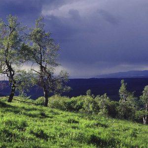 Unwetter am Dolmar (Foto: Andreas Kuhrt)