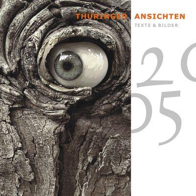 Holzauge (Foto: Rainer Koch) . Titelblatt . Literaturkalender Thüringer Ansichten 2005