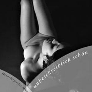 """Plakat zur Fotoausstellung """"unbeschreiblich schön"""" . Fotografie Karl-Heinz Richter & Claus Gebhardt . Kloster Veßra 2004 (Grafikdesign: Andreas Kuhrt, Foto: Claus Gebhardt)"""