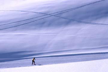 Skiläufer (Foto: Manuela Hahnebach)