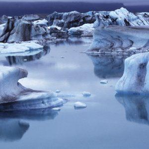 Eissee . Island (Foto: Manuela Hahnebach)