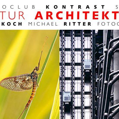 """Fotoausstellung """"Natur Architektur"""" Ines Koch + Michael Ritter . Altes Rathaus Suhl 2008"""