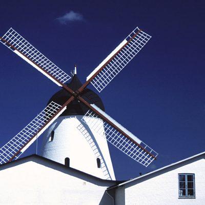 Gudhjem Moelle, Bornhom, Dänemark (Foto: Michael Oehlsen) . Ausstellung Reiselust . Naturhistorisches Museum . Schloss Bertholdsburg . Schleusingen 2010