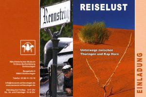 <i>Fotoausstellung</i> Reiselust <i>Bertholdsburg Schleusingen 2010</i>