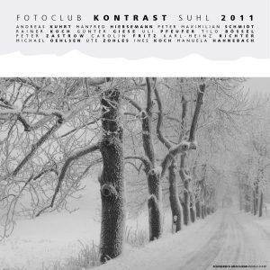 Fotoclub Kontrast Kalender 2011: Schneereich am Dolmar (Foto: Andreas Kuhrt)