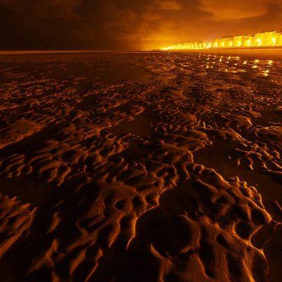 Nachts am Strand (Foto: Andreas Kuhrt)