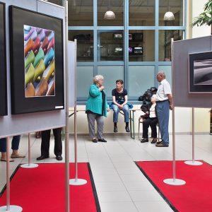 "Fotoausstellung Kontrast . Galerie im ""fritz"" Kulmbach . 2014 (Foto: Manuela Hahnebach)"