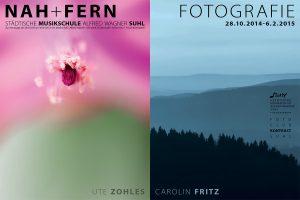 <i>Fotoausstellung</i> Nah + Fern <i>Musikschule Suhl 2014</i>