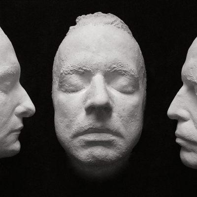 Drei Masken (Foto: Günter Giese) . Fotoausstellung Masken . Galerie im CCS Suhl . 2014