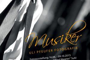 <i>Fotoausstellung</i> Musiker <i>Musikschule Suhl 2015</i>