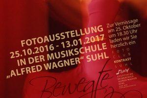 <i>Fotoausstellung</i> Bewegte Bilder <i>Musikschule Suhl 2016</i>