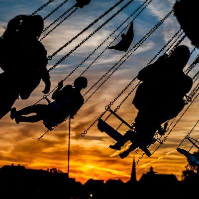 Abendflug (Foto: Uli Pfeufer)