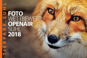 <b>27.04.2018</b> Einsendeschluss Fotowettbewerb &#8222;Wildlife &#8211; Tierpark Suhl&#8220;