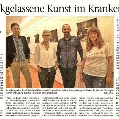 Fotoausstellung Christophe Didelot im Elisabeth-Klinikum Schmalkalden