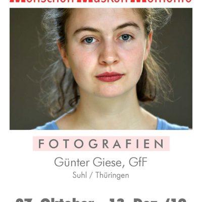 Fotoausstellung Günter Giese: Menschen Masken Momente . FreizeitForum Marzahn . 27.10. - 13.12.2019