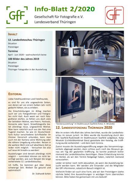 Info-Blatt 2.2020 der GfF Thüringen