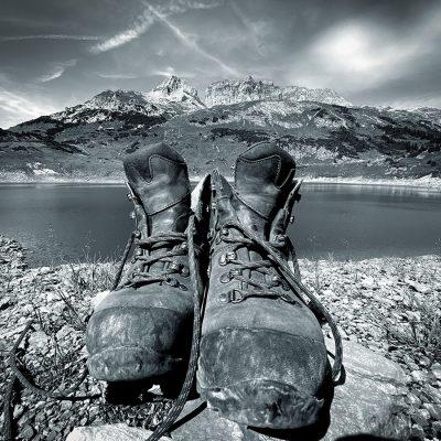 Wanderpause (Foto: Manuela Hahnebach)