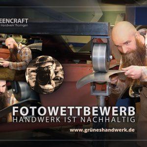 """Fotowettbewerb """"Handwerk ist nachhaltig"""" . Handelskammer Südthüringen 2020"""