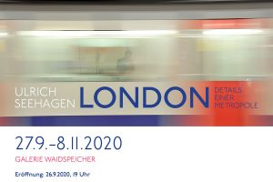 "<b>27.09.-08.11.2020</b> Fotoausstellung Ulrich Seehagen ""London"""