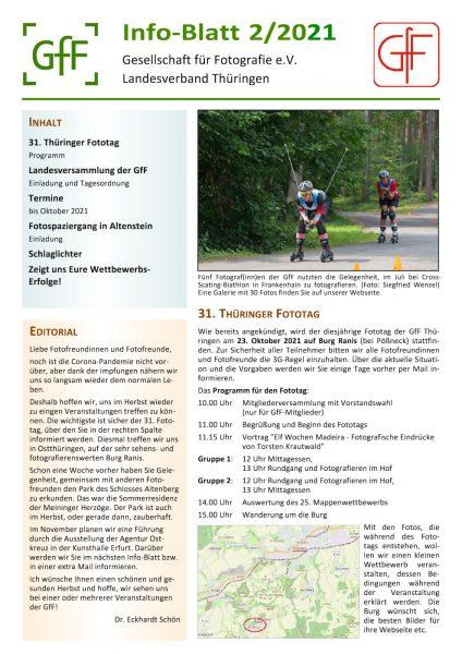 Info-Blatt 2.2021 der GfF Thüringen