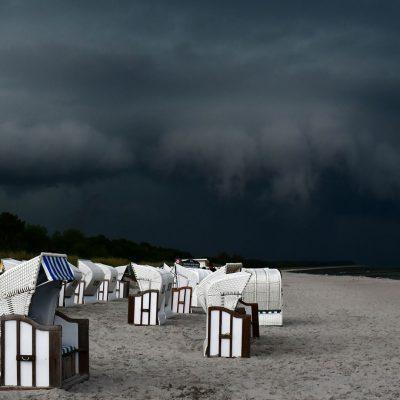 Drohendes Unwetter (Foto: Günter Giese)
