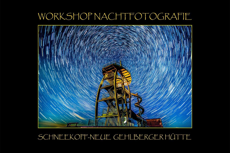Jürgen Lutz: Workshop Nachtfotografie