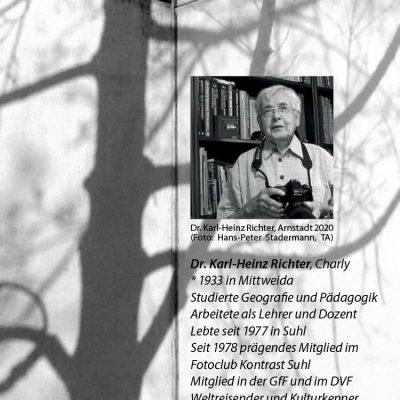 "Fotoausstellung ""Lebensmomente - Fotografie Dr. Karl-Heinz Richter"" . Musikschule Suhl 2021 (Flyer)"