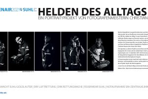<b>Ab 24.07.2021</b> Foto Openair Suhl: Helden des Alltags