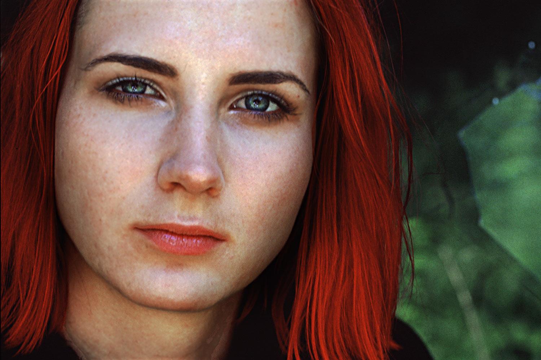 Mädchen mit roten Haaren (Foto: Günter Giese)