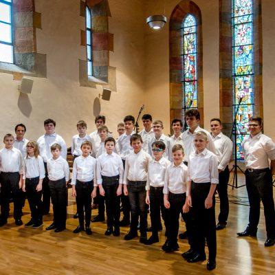 2. Südthüringer Chorfestival: Knabenchor Suhl . Johanniskirche Kloster Rohr . 22.02.2019 (Foto: Uli Pfeufer)