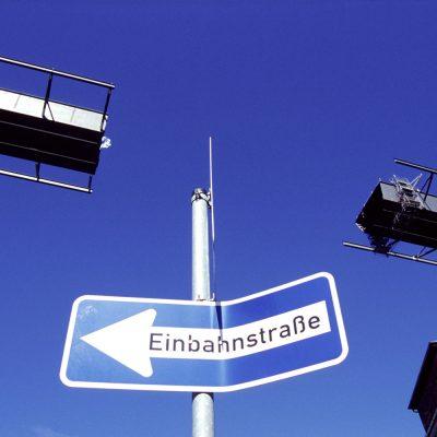 Einbahnstraße (Foto: Manfred Hiersemann)