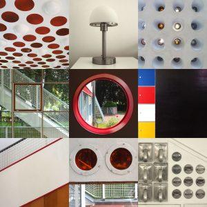 Haus Schminke Löbau: Tableau (Fotos: Günter Giese, Manuela hahnebach, Andreas Kuhrt, Peter Maximilian Schmidt, Gestaltung: Andreas Kuhrt)